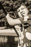 Steampunk dzieciak Zdjęcie Royalty Free