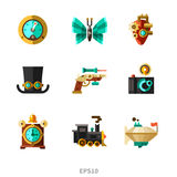 Steampunk elements Royalty Free Stock Photography