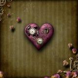 Steampunk förälskelse royaltyfri bild