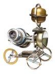 Steampunk-Fahrzeug. Lizenzfreies Stockfoto