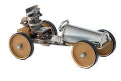 Steampunk-Fahrzeug. Stockfotografie