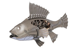 Steampunk Fish Stock Photo
