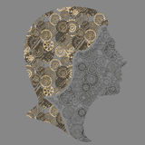 Steampunk flicka Royaltyfri Bild