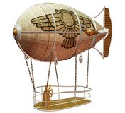 Steampunk flying machine 6 Stock Image