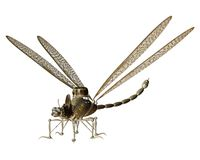 Steampunk flying machine 7 Stock Photo