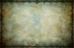 Steampunk Frame Background Royalty Free Stock Photo