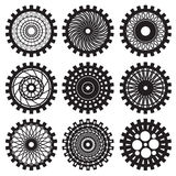 The steampunk gears Stock Images