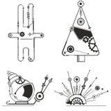 Steampunk-Gegenstände Stockfotos