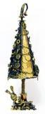 Steampunk-Geld Weihnachtsbaum Lizenzfreies Stockbild