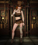 Steampunk Girl Royalty Free Stock Photos