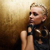 Steampunk girl portrait Royalty Free Stock Image