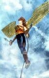 Steampunk gladiator stock illustration