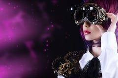 Steampunk glasses Stock Photo