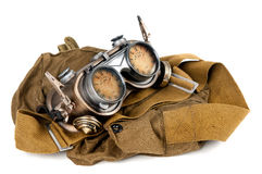 Steampunk goggles Stock Image