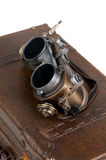 Steampunk goggles Stock Images