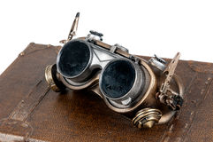 Steampunk goggles Royalty Free Stock Photos
