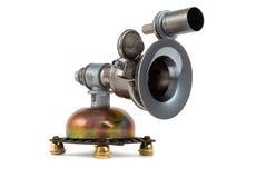 Steampunk gramophone Stock Photo