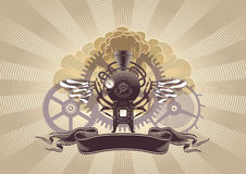 Steampunk Graphic Design Stock Images