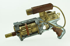 Steampunk gun Stock Photography
