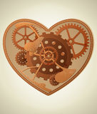 Steampunk heart Royalty Free Stock Images