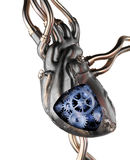 Steampunk Heart Royalty Free Stock Image