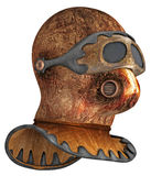 Steampunk helmet Stock Images