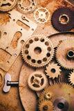 Steampunk Hintergrund Lizenzfreies Stockfoto