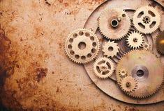 Steampunk Hintergrund Stockfoto