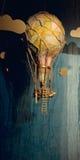 Steampunk Hot Air Balloon Stock Photo