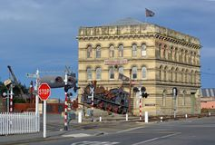 Steampunk HQ Building Oamaru, New Zealand royalty free stock images