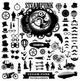 Steampunk-Illustration Stockfotos