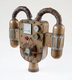 Steampunk jetpack Stock Images