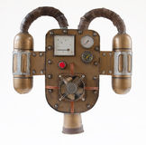 Steampunk jetpack stock photography