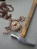 Steampunk jewelry Stock Image