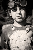 Steampunk kid Royalty Free Stock Image