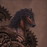 Steampunk koń zdjęcie stock