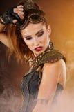 Steampunk Kobieta Zdjęcia Stock