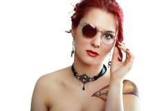Steampunk kvinna arkivfoton