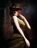 Steampunk Lady Royalty Free Stock Image