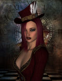 Steampunk Lady Royalty Free Stock Photo