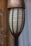Steampunk lamphållare Arkivfoton