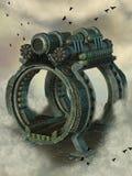 Steampunk machine Royalty Free Stock Photos