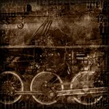 Steampunk machinery illustration Royalty Free Stock Image