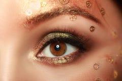 Steampunk-Make-up Lizenzfreies Stockbild