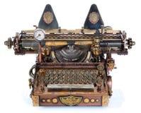 Steampunk maszyna do pisania obraz stock