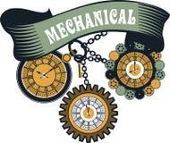 Steampunk mechanism Stock Photo