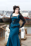 Steampunk model Royalty Free Stock Photography