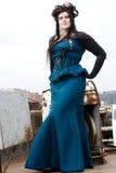 Steampunk model Royalty Free Stock Photo