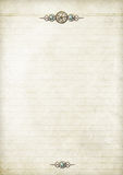Steampunk Notepaper Royalty Free Stock Photos