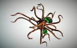Steampunk ośmiornica Obrazy Royalty Free